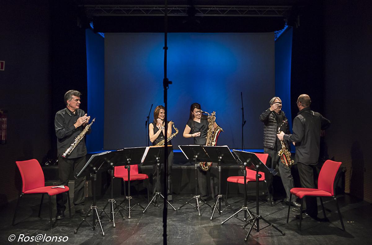 """Estreno en Sevilla de """"Mantra, 30 maneras de decir felicidades"""" para cuarteto de saxos"""